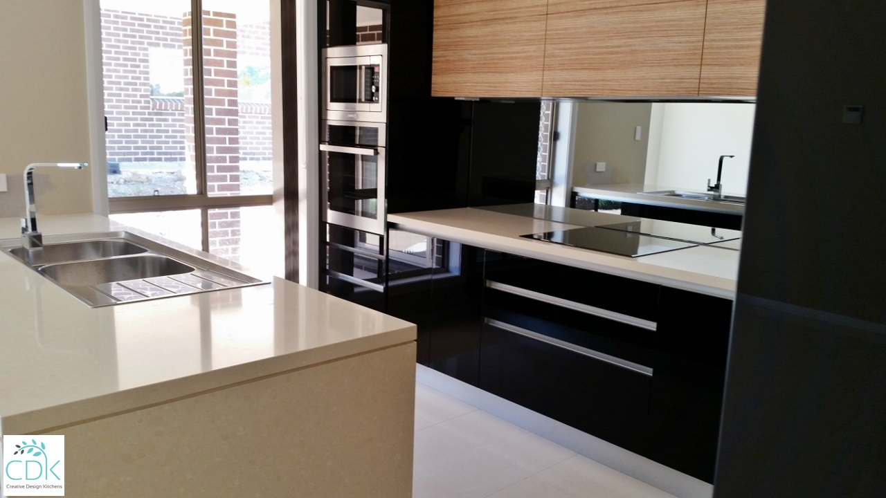 Contemporary Vinyl Kitchens Cdk