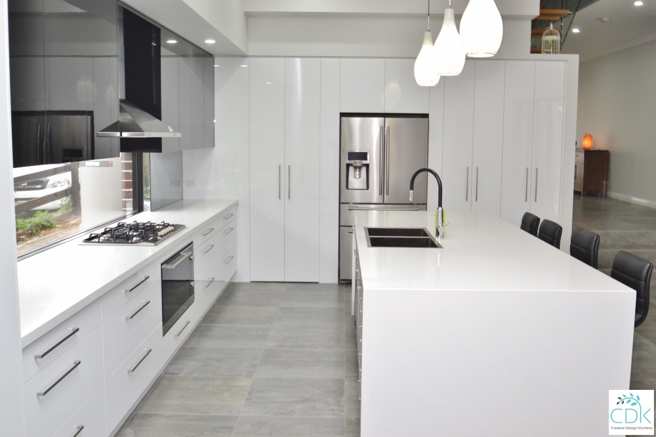 Contemporary Vinyl Kitchens | CDK