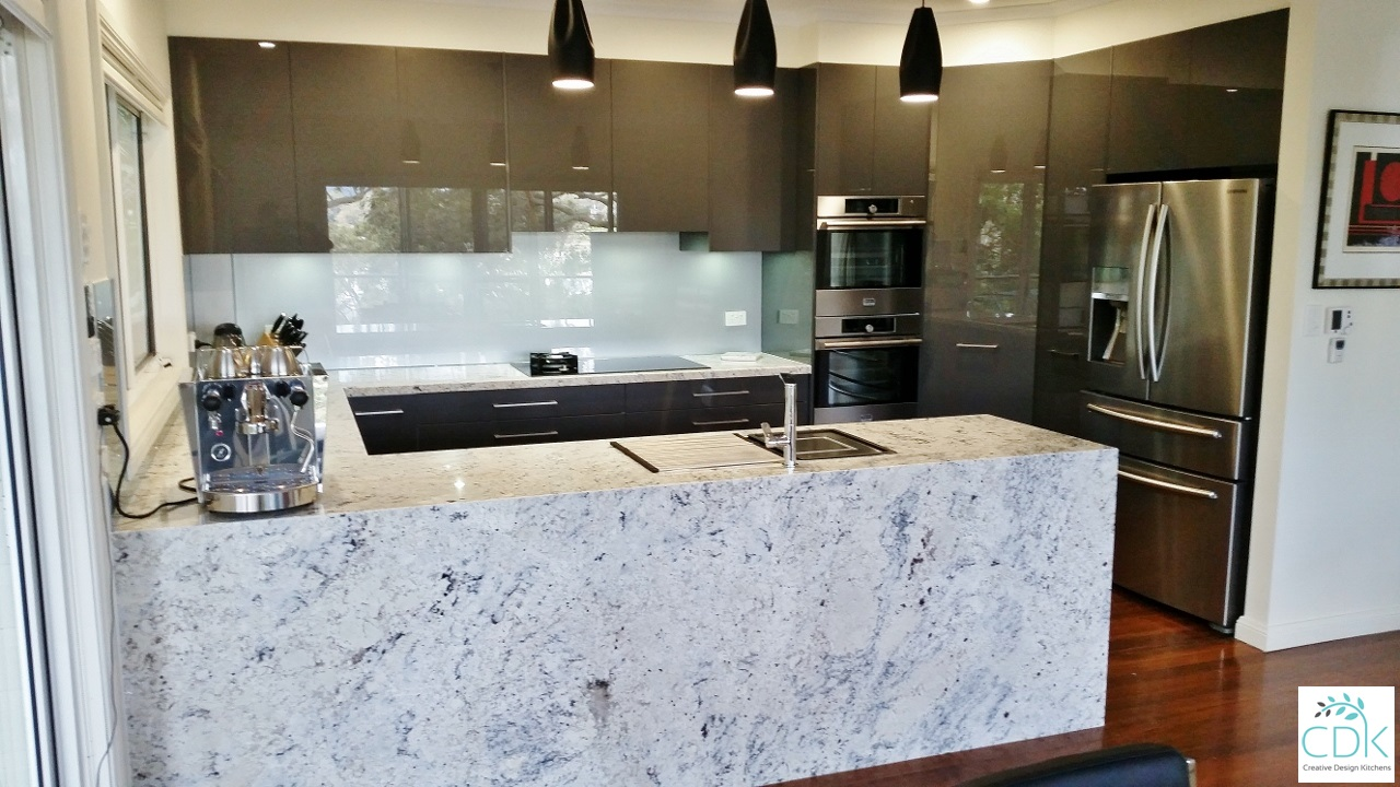 Granite Kitchen Benchtops Streamlined Kitchens Handless Kitchens Cdk
