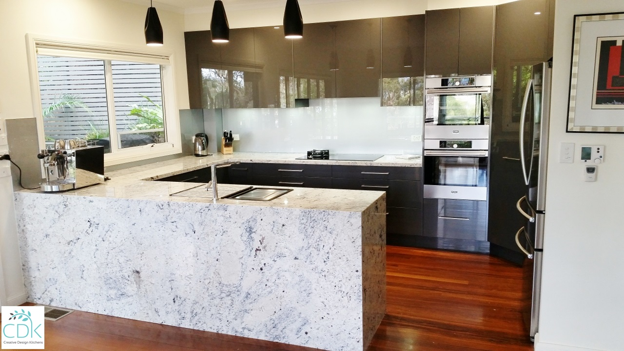 Kitchen Granite Benchtops Streamlined Kitchens Handless Kitchens Cdk