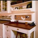 Office Desk in Kitchen